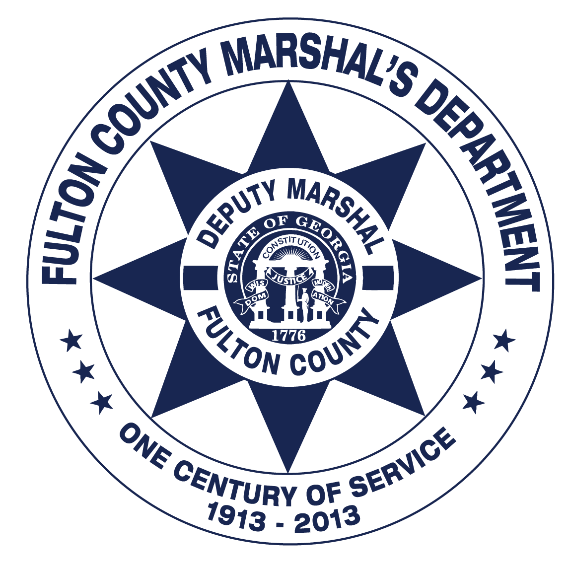 logo for the Fulton County Marshal's Department