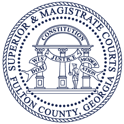 logo for the Fulton County Superior and Magistrate Court