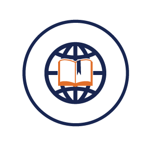 icon representing digital library services