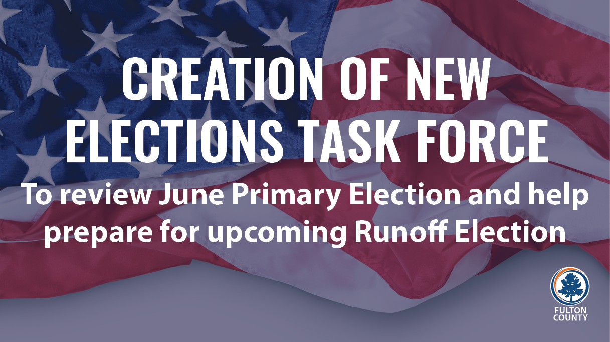 creation of new elections task force